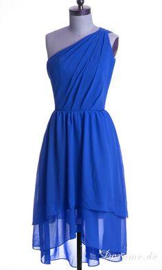 Blue dress DOM0285 von dorame.de