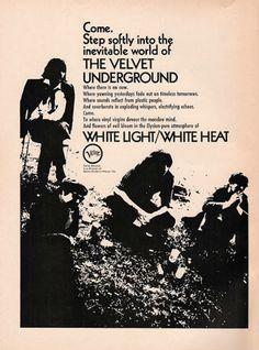 The Velvet Underground, 'White Light/White Heat' promo, 1968