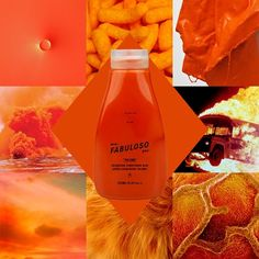 230g conditioner base + 18g orange + 2g yellow = @evofabuloso pro™ blazing copper. kapow!
