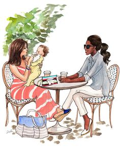 The Sketch Book – Inslee Haynes / Fashion Illustration by Inslee