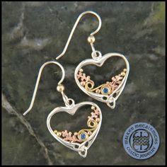 Celtic Heart and Oak Leaves Earring SW3287FE