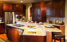 Beautiful cabinets #kitchen