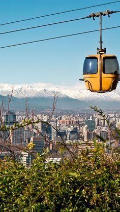 Santiago Cable Cars,  Chile
