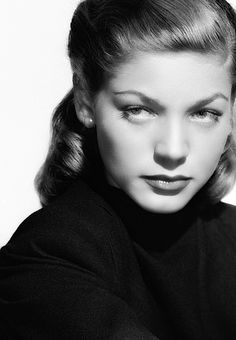 This lady knew how to OWN IT. Lauren Bacall