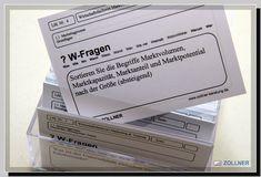 Lernkarten Box Karteikarten Karteikasten Wolfgang Zollner Marketing, Container, Box, Learning Methods, Note Cards, Project Management, Canisters