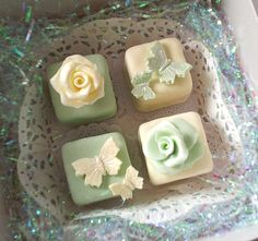 Petit Fours.  Maybe I should try to make these for Ava's birthday.  I'm feeling very tea partyish.