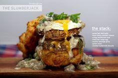The Slumberjack Burger