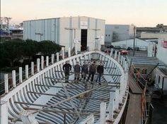 La chantier naval du Guip de Lorient termine la restauration de Biche - ActuNautique.com