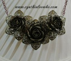 Handmade Filigree Jewelry by Cynthialoowho