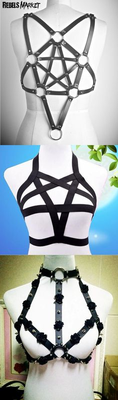 Shop sexy goth harnesses at RebelsMarket!