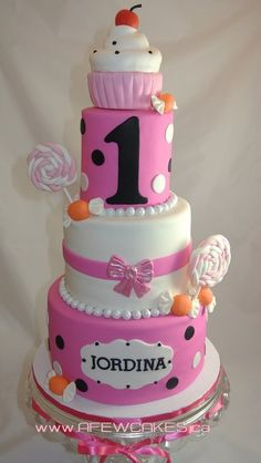 Sweets themed Birthday Cake