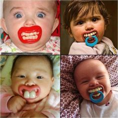 If the pacifier falls on the floor you: 1st baby: Boil it 2nd baby: Rinse it off in the sink 3rd baby: Wipe it off on your shirt 4th baby: Just stick it back in!  Dentaltown - Dentally Incorrect