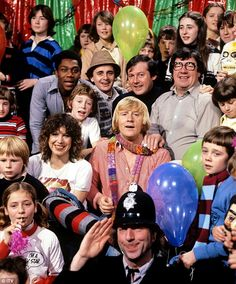 Tiswas on Saturday morning. It was good but I was more of a Swap Shop man myself !!
