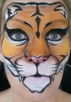 Face Painting Starblend Cougar