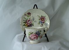 Vintage Aynsley Fine Bone English China by OurBarefootCottage.etsy.com