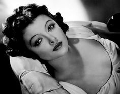 Myrna Loy, I love her! She could do it all and I love that she didn't take herself too seriously.