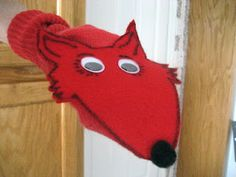 Fox in Sox Sock Puppet to celebrate Dr. Seuss