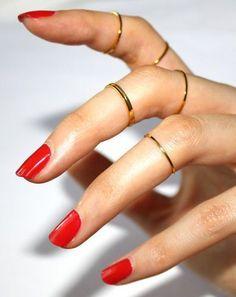 Trend Alert: Knuckle Rings <3