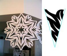 Snowflake Pattern, #1 by tiffanyharvey, via Flickr