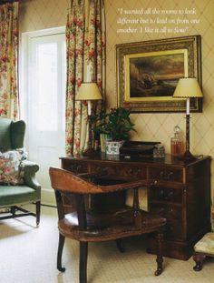 Mark Gillette Interior Design: English Home September 2011