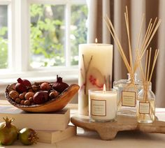 Homescent Collection from Pottery Barn in Pomegranate. I have this and love it!