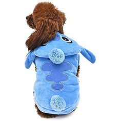 Loye Dog Clothes Stitch Pet Costume Cat Outfits Soft Fleece Fabric for Small Medium Large Dogs,S *** To view further for this item, visit the image link. (This is an affiliate link) #DogApparelAccessories