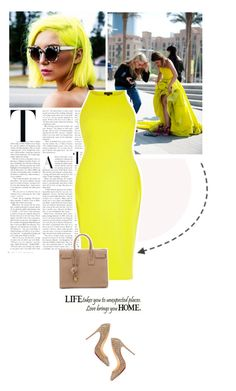 habits. by eve-angermayer on Polyvore featuring polyvore fashion style River Island Yves Saint Laurent clothing