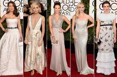 Globos de Oro 2015: Los mejores 'looks' de las famosas sobre la alfombra roja