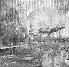 Fragmented Montréal | Architectural Photographic Essay on Behance