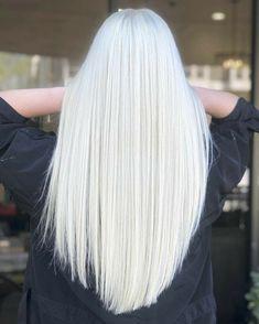 Silver White Hair, Long White Hair, White Blonde Hair, Platinum Blonde Hair, Pink Hair, Dyed White Hair, White Hair Men, White Women, Natural White Hair