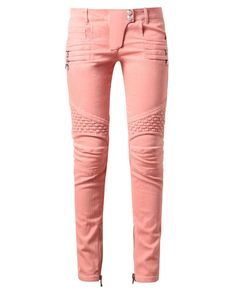 I love these they look like pink Michael Jackson pants Brown Fashion, Denim Fashion, Womens Fashion, Fashion Fashion, Pink Jeans, Denim Jeans, Jeans Pants, Pastel Jeans, Trousers