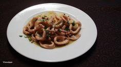 Calamares al limón y perejil para #Mycook http://www.mycook.es/receta/calamares-al-limon-y-perejil/