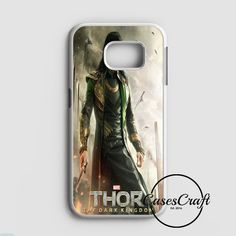 Loki Tom Hiddleston Collage Samsung Galaxy S7 Case | casescraft