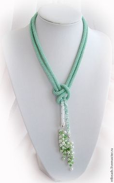 Handmade Jewelry From Israel Handmade Necklace Tutorial Step By Step Rope Jewelry, Seed Bead Jewelry, Bead Jewellery, Jewelry Crafts, Beaded Jewelry, Jewelery, Jewelry Necklaces, Beaded Bracelets, Soutache Jewelry