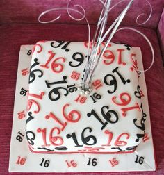 Image result for boy 16th birthday cake
