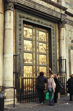 Gates of Paradise, Florence, Italy