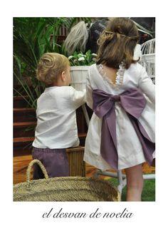 Vestidos de ceremonia para niñas - Página web de eldesvandenoelia