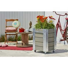 Die 14 Besten Bilder Von Hochbeete Cubic Rollbar Garten Design