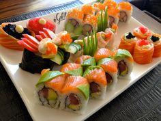 o'Galito sushi platter