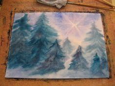 Teaching Handwork: Waldorf painting tutorial viideo