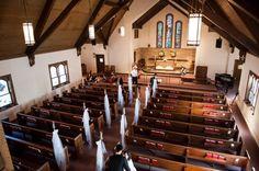 Gorgeous church wedding in Chicago.