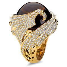 Rosamaria G Frangini | High Black Jewellery | Scott Kay ring | www.goldcasters.com