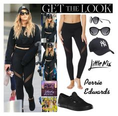 """Perrie Edwards With Jesy Nelson Heathrow Airport in London UK April.17.2017"" by valenlss ❤ liked on Polyvore featuring Vans and Chanel"