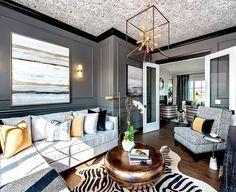 Moderne Wohnzimmer, Wohnen, Wohnzimmer Kronleuchter, Wohnräume, Wohnzimmer  Ideen, Interieur Styling, Innendekoration, Schlafzimmer, Arquitetura
