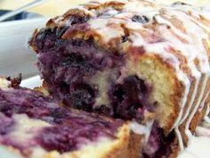 Wheat free Lemon Blueberry Cake