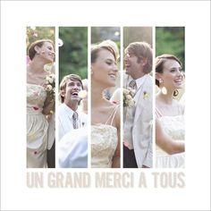 carte de remerciement mariage photos disponible en 4 formats et personnaliser sur popcarte - Remerciement Mariage Personne Absente