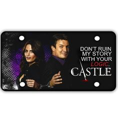 Castle License Plate