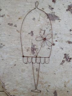 Creazioni artigianali in Filo di Ferro di ShabbyBe su Etsy