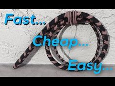 How to Make a Paracord Bullwhip - a full length tutorial by Nick Schrader - YouTube