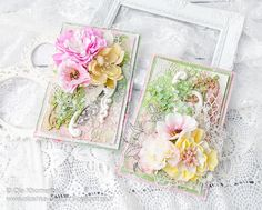 Scrap & Craft Summer cards using products from www.scrapandcraft.co.uk #cards #crafts #foamiran #flowers #summertime #chipboard